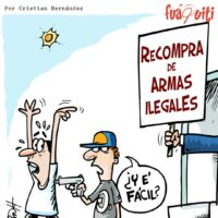 ¡Recompra de armas! – Caricatura Fuaquiti, 24 de Marzo, 2021