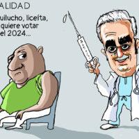 Caricatura El Caribe – Mercader, 15 de Marzo, 2021
