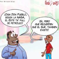 El Este Debería de Compartir un Chin – Caricatura Fuaquiti, 01 de Abril, 2021