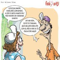 El Río viene pa' donde Cocote y Molleja – Caricatura Fuaquiti, 02 de Abril, 2021