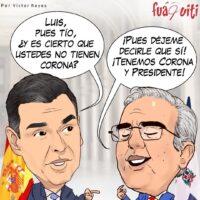 No están hablando el mismo idioma Luis, qué fue – Caricatura Fuaquiti – 20 de Abril, 2021