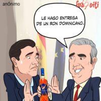 No quiere saber de eso el Gobernador de España – Caricatura Fuaquiti – 22 de Abril, 2021