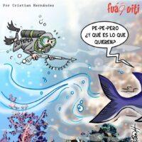 Pero pa' dónde van tiburone – Caricatura Fuaquiti – 26 de Abril, 2021