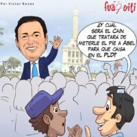 Quién se anima a ser Caín pa tumba' al PLD – Caricatura Fuaquiti – 18 de Abril, 2021