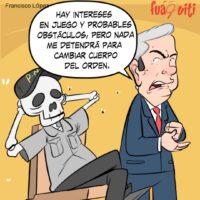 Ta' hablando solo Señor Presi, manéjese – Caricatura Fuaquiti – 08 de Abril 2021